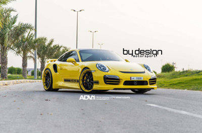 Porsche 911 Turbo S 2014 в исполнении ByDesign Motorsport