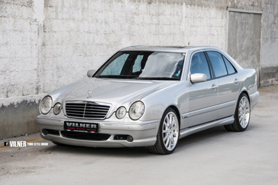 Mercedes-Benz E55 AMG 4Matic в тюнинге Vilner